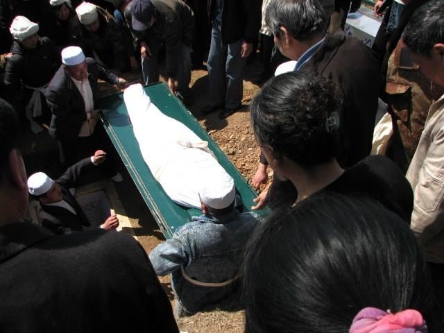"""回族葬礼给亡人穿""""克番""""的习俗 第1张"""